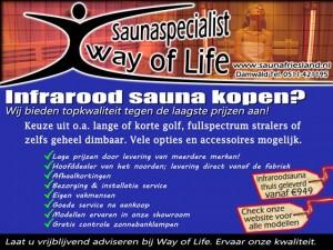 sauna infrarood verkoop