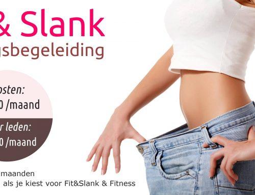 Fit&Slank voedingsbegeleiding | Wekelijkse metingen = wekelijks tot 1kg vet afvallen!!