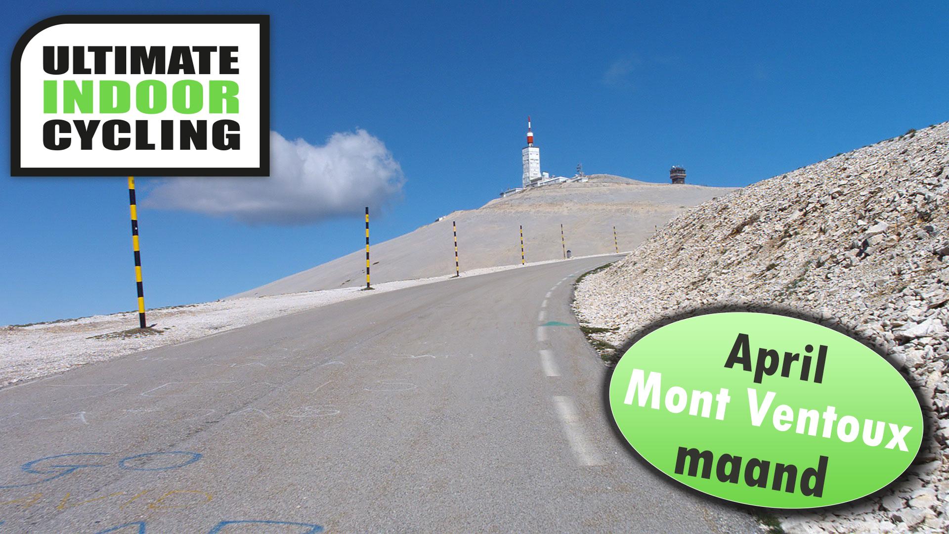 April Mont Ventoux maand