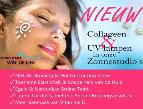 NIEUW; Bruining & Huidverzorging ineen!! Vernieuwde Zonnestudio's!! Uniek in Friesland…