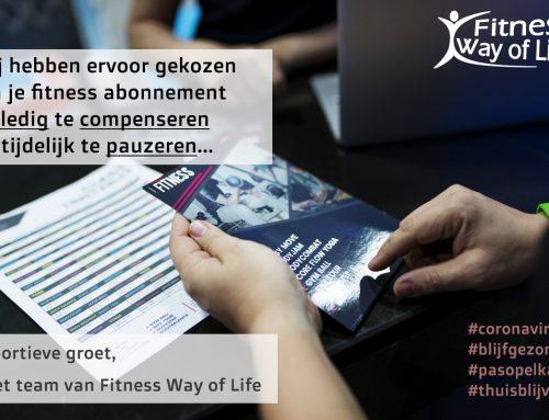 Je fitnessabonnement wordt volledig gecompenseerd!