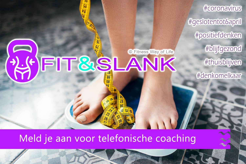 Telefonische voedingscoaching voor al onze klanten die Fit&Slank voedingsbegeleiding volgen...