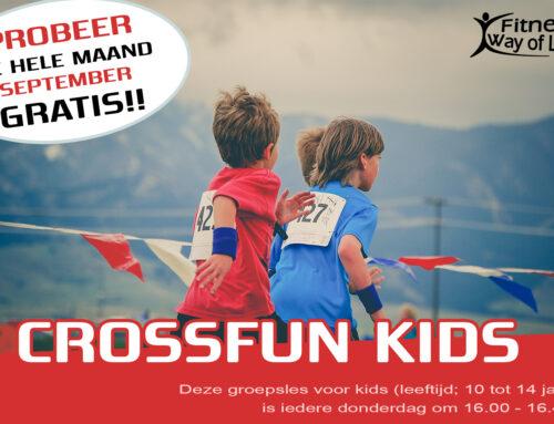 CrossFun Kids | Deze hele maand GRATIS UITPROBEREN