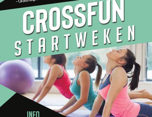 CrossFun STARTWEKEN (tot 25 juni)