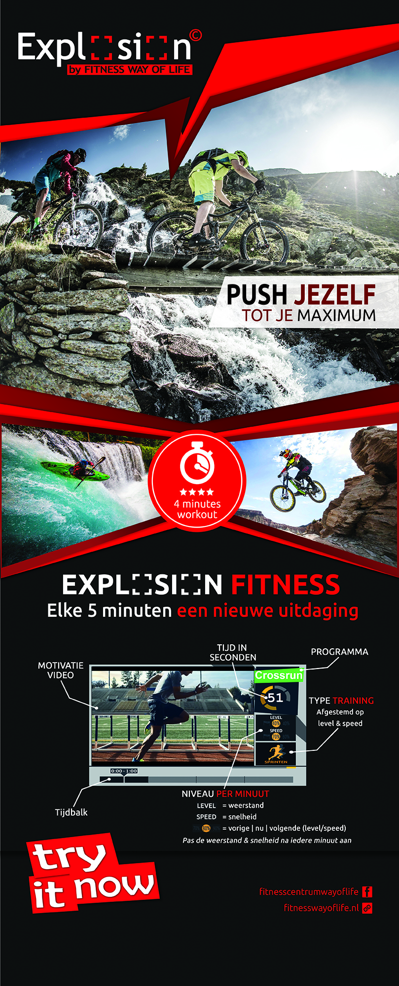 EXPLOSION Fitness by Way of Life