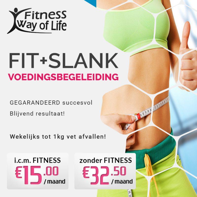 Fit+Slank voedingsbegeleiding