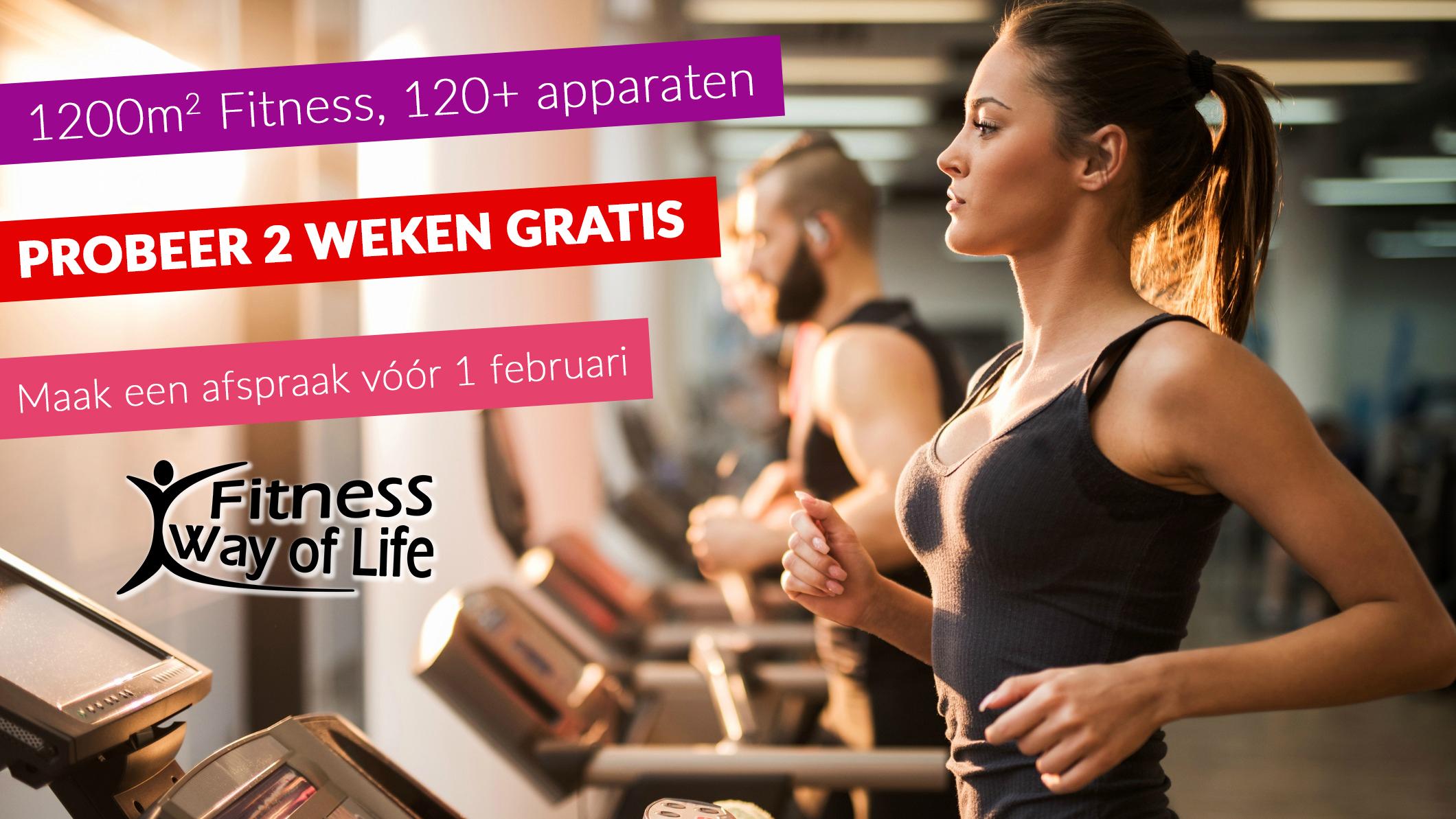 Fitness 2 weken gratis uitproberen