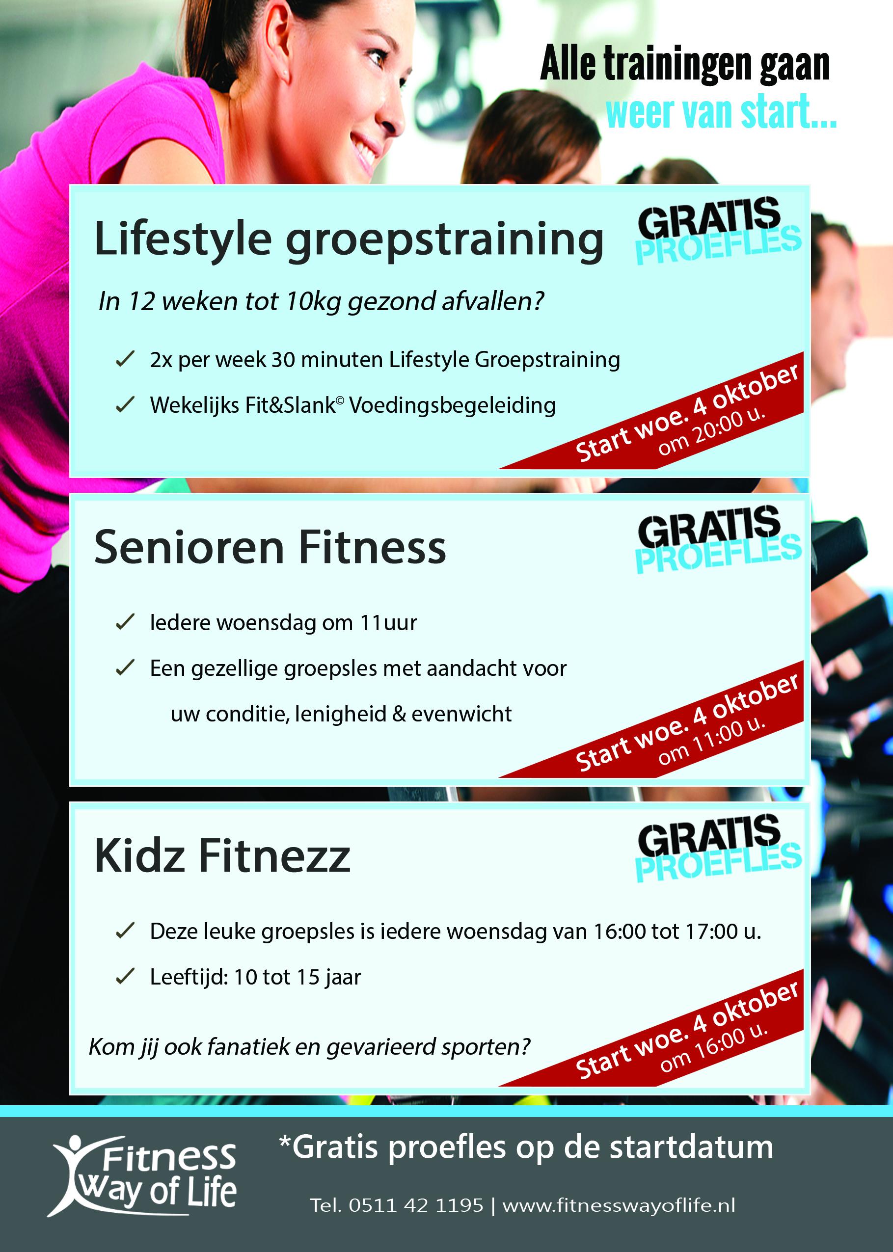 Flyer Lifestyle - Seniorenfitness - kidz fitnezz