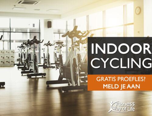 Op welk uur start jij met de 30 minuten Indoor Cycling?