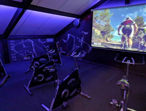 New New New De nieuwe Indoor Cycling zaal is klaar voor gebruik!!