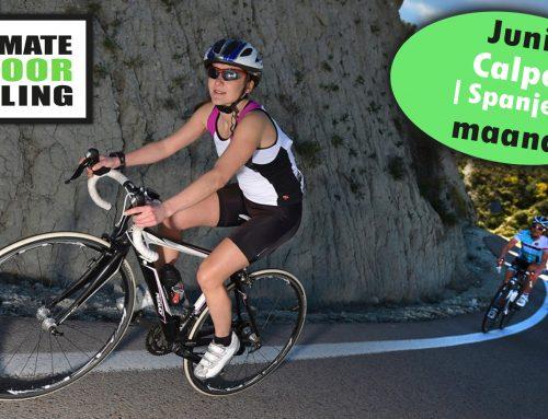 Indoor Cycling; JUNI maand = Calpe (Spanje)