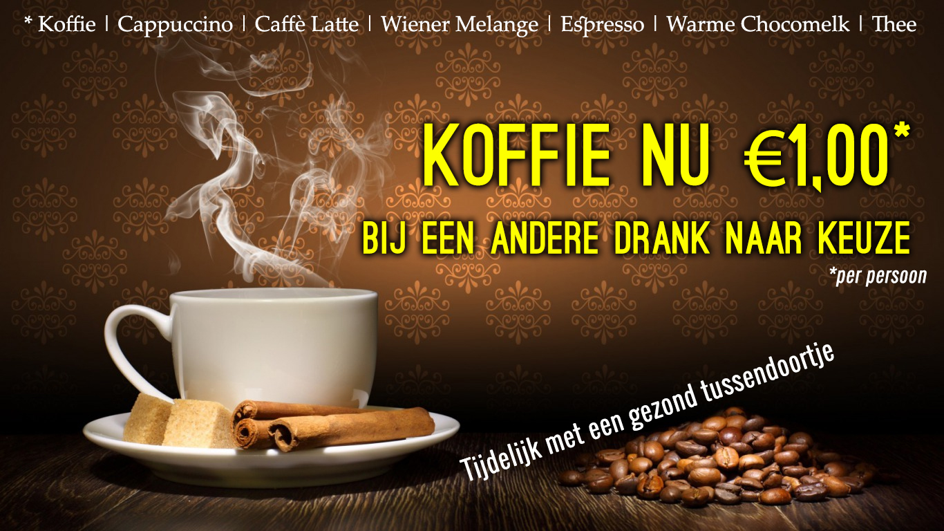 Koffie 1euro