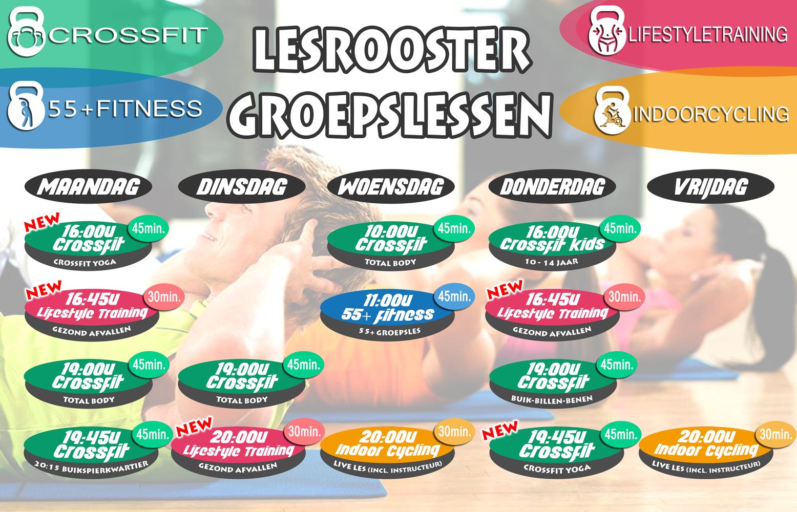 Lesrooster-alle-groepslessen