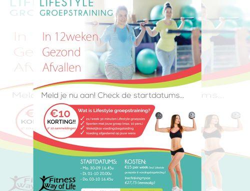 Binnenkort… Starten de Lifestyle Groepstrainingen; In 12 weken Gezond Afvallen!!