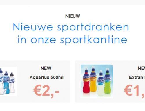 NIEUW Aquarius, Extran & AA Sportwater