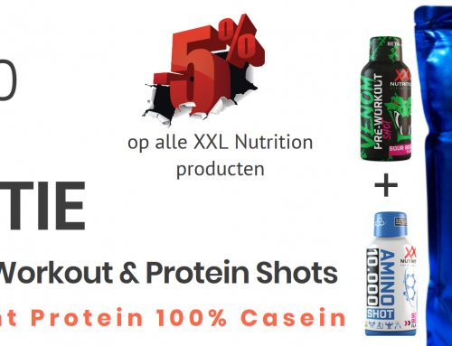 Gratis Pre-Workout & Protein Shots bij Night Protein 100% Casein (750gram)