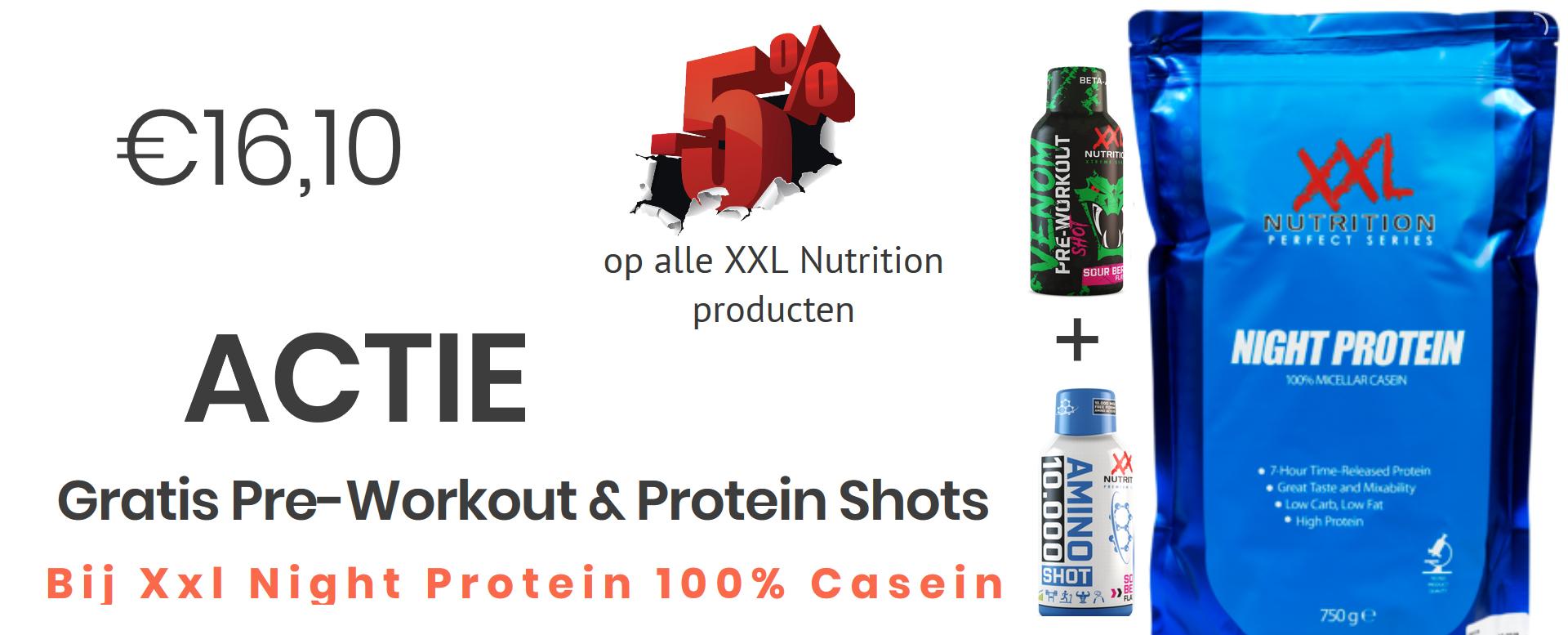 Night Protein actie