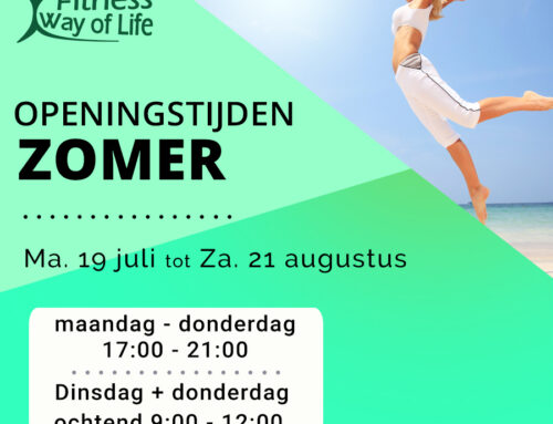 Openingstijden zomer | 19 juli tot 21 augustus