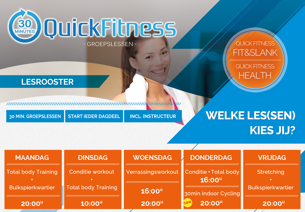 Quick-Fitness-lesrooster