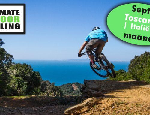 Indoor Cycling September; Toscane (Italië) maand