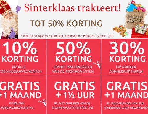 Decembermaand ledenactie; tot 50% korting!!