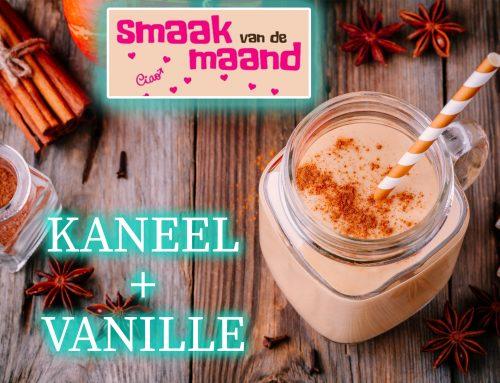 Smaak van de Maand… Eiwit-milkshake; Kaneel & Vanille