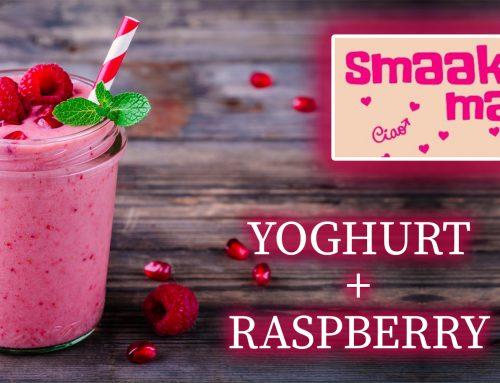 Smaak van de Maand… Eiwit-milkshake; Yoghurt Raspberry