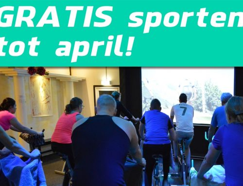 Start nu… Sport Gratis tot april!!