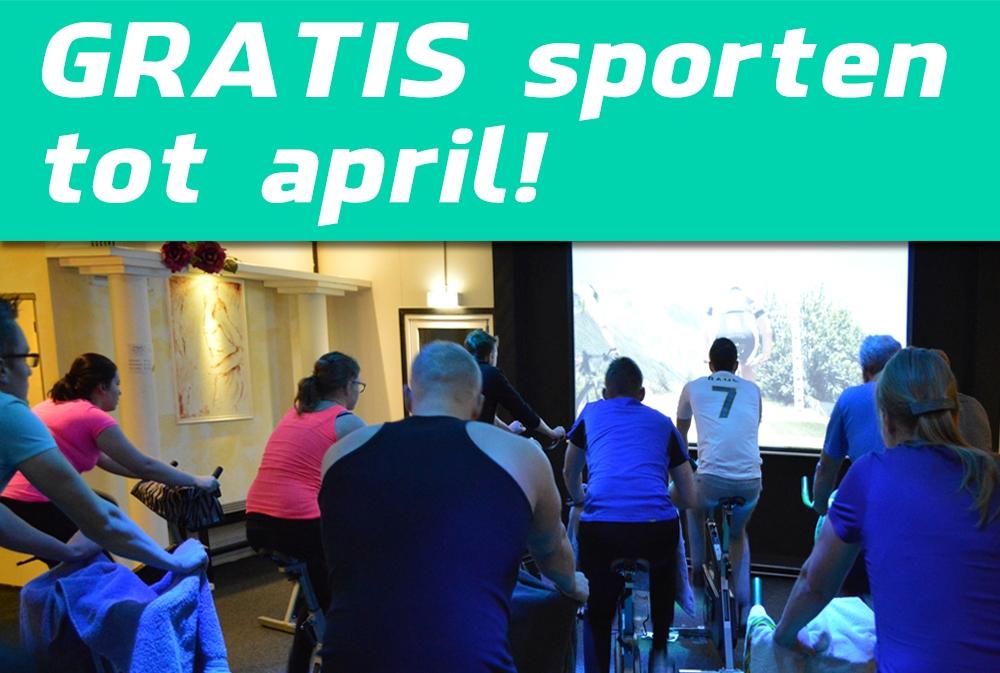 Tot april gratis sporten1