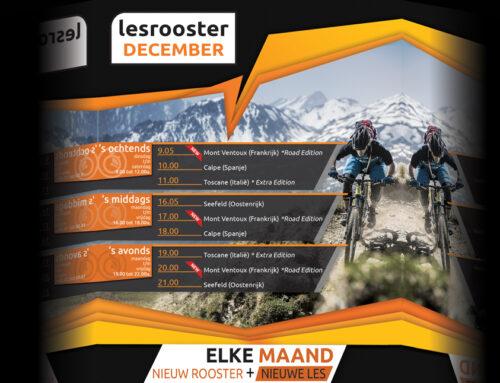 Indoor Cycling December; Mont Ventoux (Frankrijk)