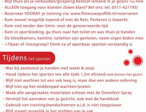 Kom weer Buiten Sporten, vanaf maandag 18 mei!