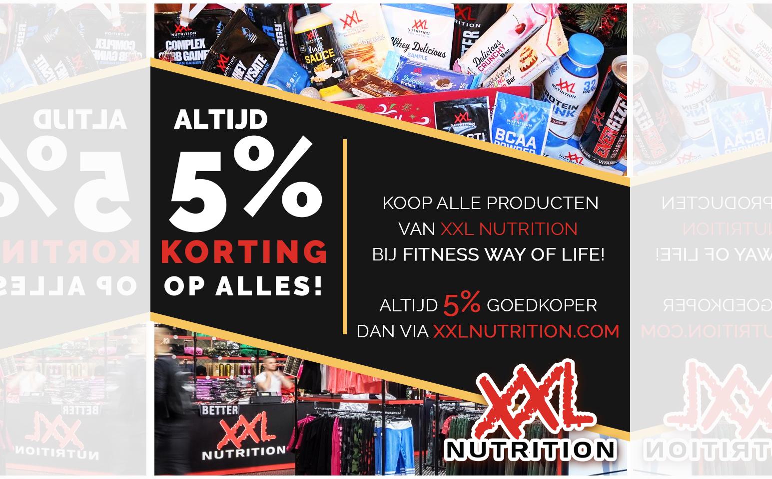 XXL Nutrition 5% korting1