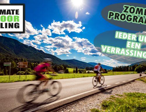 Indoor Cycling Zomer programma; Ieder uur een verrassingsles
