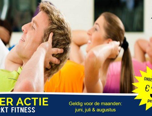 Zomer Actie; Onbeperkt Fitness voor €30 per maand