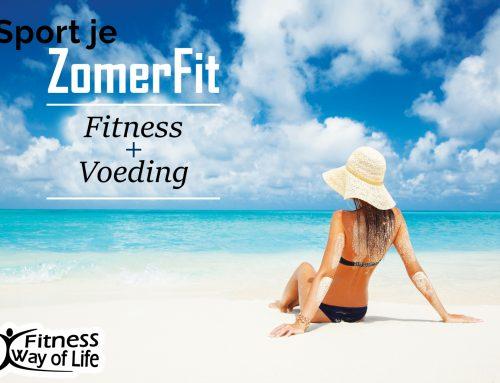 Sport je ZomerFit in 12 weken…