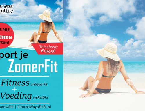 Start nu; In 12 weken ZomerFit | Fitness+Voeding (€60 korting)